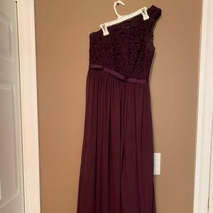 A David's Bridal bridesmaid dress, worn once!